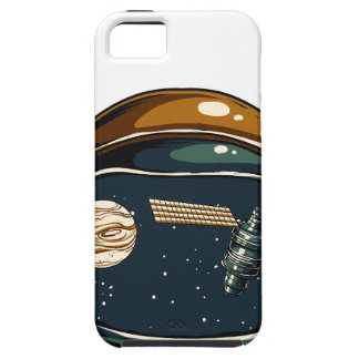 nasa satellite and the moon iPhone 5 covers