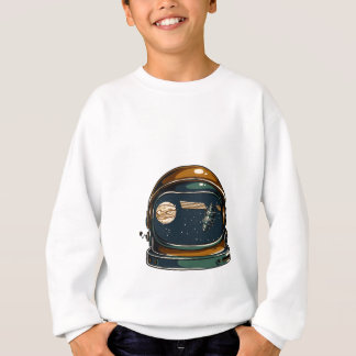 nasa satellite and the moon sweatshirt