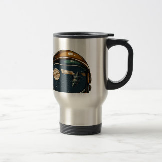 nasa satellite and the moon travel mug