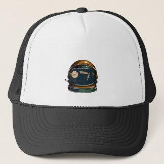 nasa satellite and the moon trucker hat