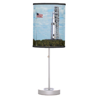 NASA SLS Space Launch System Rocket Launchpad Table Lamp