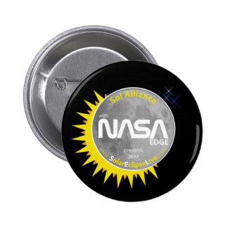NASA Solar Eclipse Button