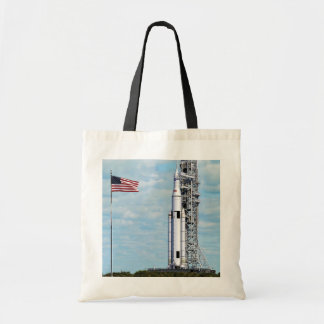 NASA Space Launch System Budget Tote Bag