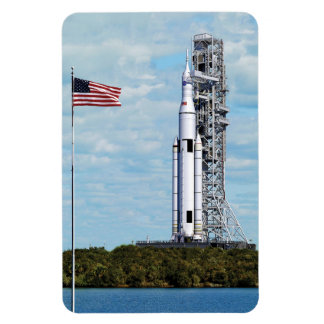 NASA Space Launch System Rectangular Photo Magnet