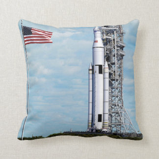 NASA Space Launch System Throw Pillows