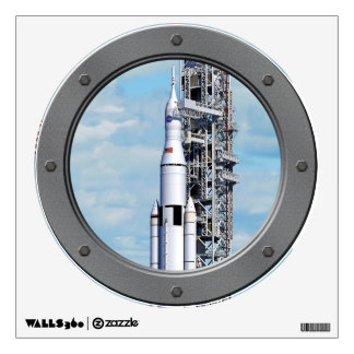 NASA Space Launch System Wall Sticker