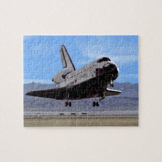NASA Space Shuttle Atlantis Landing Edwards AFB Jigsaw Puzzle