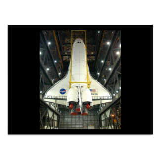 NASA SPACE SHUTTLE ATLANTIS PROGRAM COMMEMORATIVE POSTCARD
