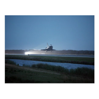 NASA / Space Shuttle Discovery landing - STS 116 Postcard