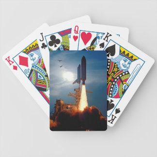 NASA Space Shuttle Discovery Launch STS-64 Bicycle Playing Cards