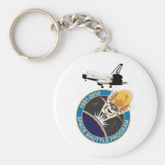 NASA Space Shuttle Program Keychain
