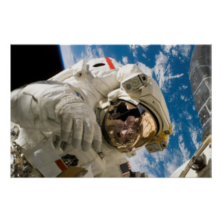 NASA Spacewalker Poster
