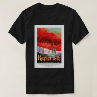 NASA Travel Poster - Kepler 186f T-Shirt