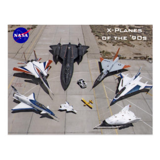 NASA X-Planes of the 1990s Postcards