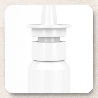 Nasal spray coaster