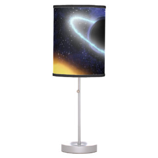 NASAs Black hole PIA01884 Table Lamp