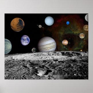 NASAs New solar system Poster