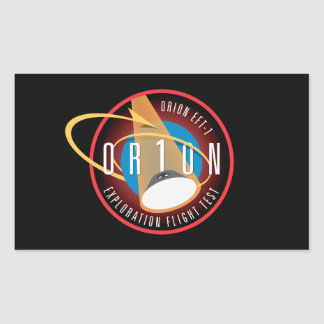 NASA's Orion EFT-1 Flight Official Mission Patch Sticker
