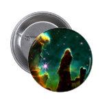 NASAs Pillars of creation 2 Inch Round Button