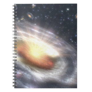 NASAs Quasar Black Hole Notebook