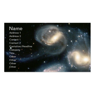 NASAs Star Clusters Born Business Card Templates