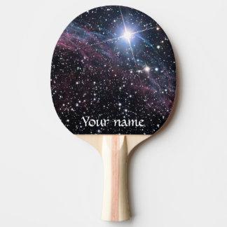 NASAs Veil Nebula Ping Pong Paddle
