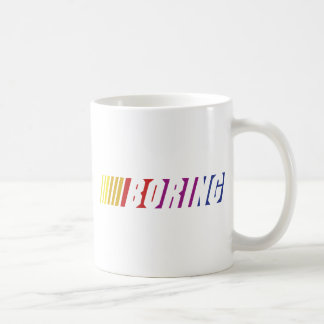 Nascar Boring Coffee Mug