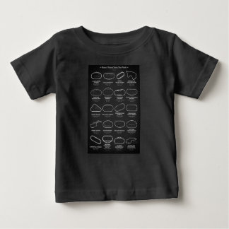 Nascar Race Tracks Baby T-Shirt