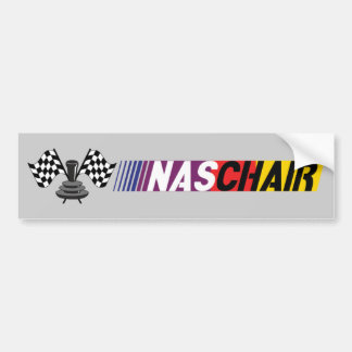 NASCHAIR Bumper Sticker