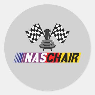 NASCHAIR Sticker