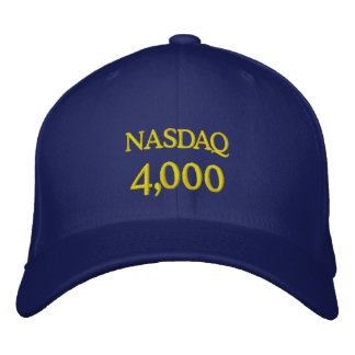 NASDAQ 4000 EMBROIDERED HAT