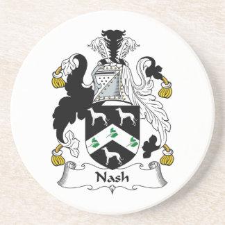 Nash Family Crest Coaster