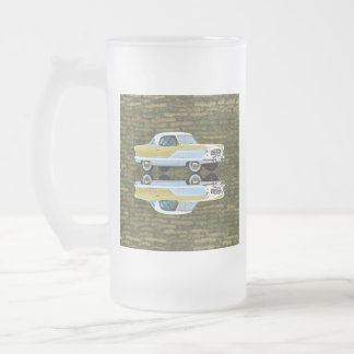 Nash Metropolitan Frosted Glass Beer Mug
