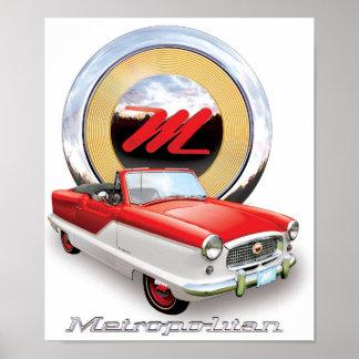 Nash Metropolitan painting Poster