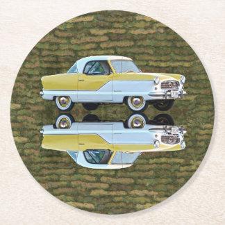 Nash Metropolitan Round Paper Coaster