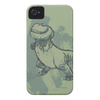 Nash Sketch iPhone 4 Case-Mate Case