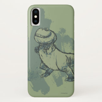 Nash Sketch iPhone X Case
