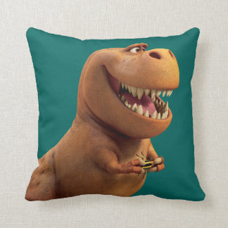 Nash With Bug Throw Pillow