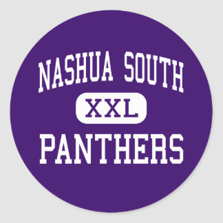 Nashua South - Panthers - High - Nashua Classic Round Sticker