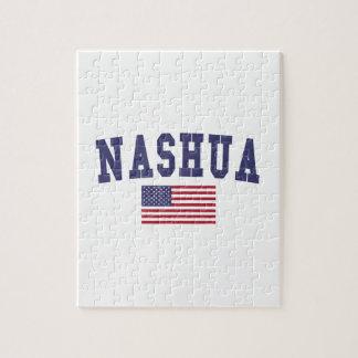 Nashua US Flag Jigsaw Puzzle