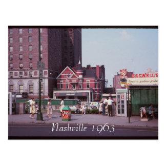 Nashville 1963 Postcard