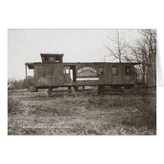 Nashville and Atlantic Railroad Caboose Card