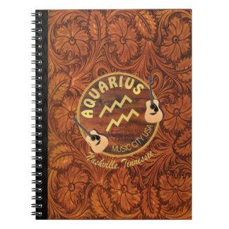 Nashville Aquarius Spiral Notebook