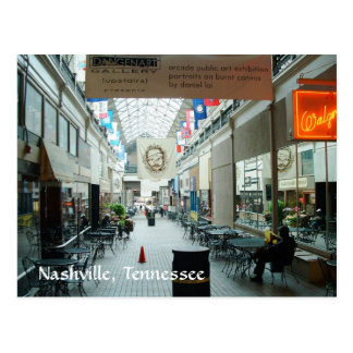 Nashville Arcade Postcard
