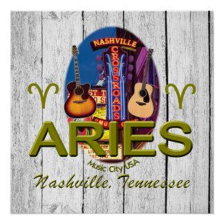 Nashville Aries Poster