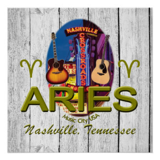 Nashville Aries Poster Perfect Poster