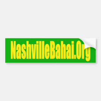 Nashville Baha'i Bumper Sticker