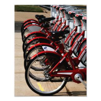 Nashville Bikes Photo Print