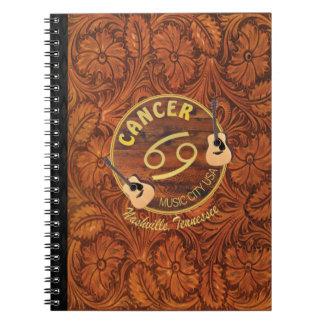 Nashville Cancer Spiral Notebook