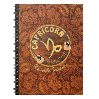 Nashville Capricorn Photo Notebook